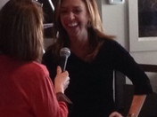JC Monahan being interviewed at the Haverhill Chamber WOW conference