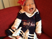 10 week old Sox Fan Ailish Kathleen Sullivan