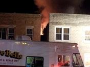 Fire at Schettee Daniels furniture store