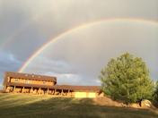 Rainbow Over Big Sky