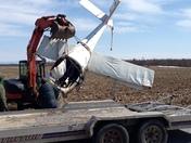 Pilot survives crash in Clarenceville, Québec