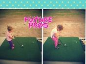 "Victoria & Julianna!  ""Future Pros"""