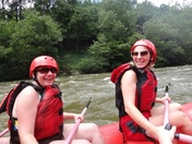 Rafting in the smokies with the best mom a girl could ask for!!!!