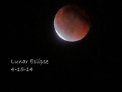 Lunar Eclipse 4-15-14