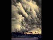 Storn Clouds 3pm April 13, 2014 (By Cassie Batesel)