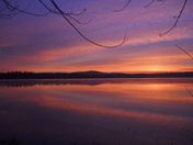 Lake Champlain Sunrise-Ticonderoga!