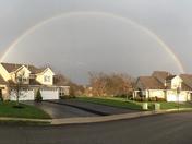Full Double rainbow in Murrysville, PA