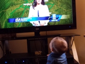 My son Kaden loves his Julie Gargotta!  Whenever she comes on he stops what he i