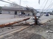 Bethel Park Utility Pole Accident  5-3-2014