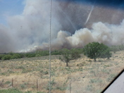 wildfire northeast of woodward