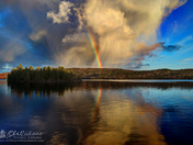 Lake of Two Rivers Rainbow