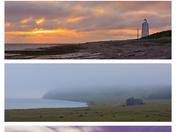 Photo montage, Anticosti landscapes