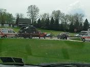 3 car accident west 380