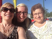 Grandmother, mom and daugther girls night out