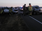 Accident on highway 1 in Moss Landing on Mother's Day
