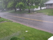 hail and strong winds