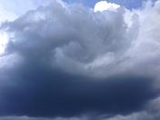 swirling cloud