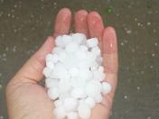 Short...live hail storm