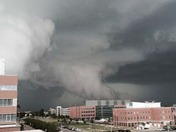 Tornado today in Denver