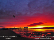 Sunrise at the OOB Pier by Stewart Smith Photography
