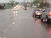 road flooded