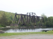 Old CN swing Bridge in Glen Ross Ont