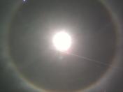 Sun Halo in Hyde Park, VT!
