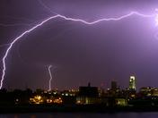 Lightning Above Omaha