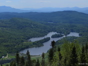 Lake Eden from Mt Norris