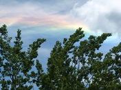 Rainbow sky in Union