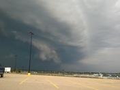 Taken from Walmart parking lot in West Mifflin
