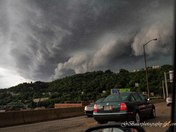 storm coming over Mt Washington