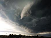 Storm Cloud in Fayette County