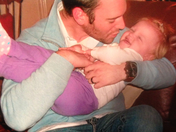 Audrina having fun with daddy!