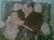 My Dad with me 1958. George T.Kelley