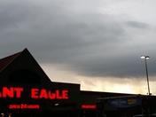 Clouds/rain behind Giant Eagle