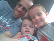 hanging out with my boys