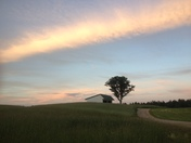 Sunset photo of ashby ma