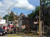 Waltham Fire on Charles Street