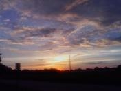 Sunset in Springdale