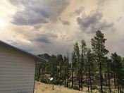 Coyote Fire Smoke In Los Alamos