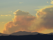 Fire in the Santa Fe National Forest