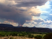 Diego Fire seen from Abiquiu