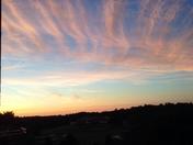 Sunset in Newton