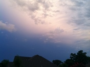 Storms rolling in- 7.10.2014