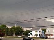 tornado warning called and took photo north