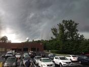 Storm over Millersville MD