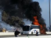 Bus fire 95N  7/17/14