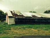 Chickenhouse damage