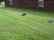 Damage caused by storms Elkins. VanBrunt rd